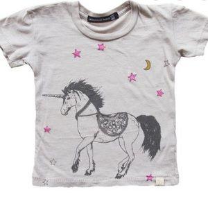 Atsuyo Et Akiko infant unicorn t-shirt